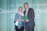 Victoria Rydberg-Nania receiving Director's Award