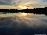 14-08-25 Sunrise reflection by Faulkner