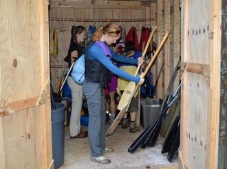 14-09-25 Sylvania FS Choosing Paddles