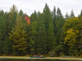 14-09-25 Sylvania FS three canoes start