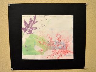 Gelatin Plate Print