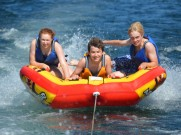 Tubing on Black Oak Lake