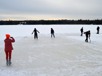Clearing the ice