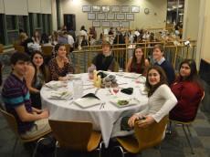 14-12-19 s1 Dinner Walker table