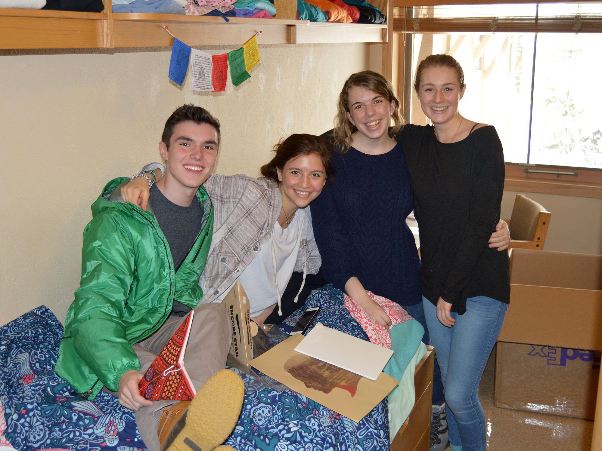 15-01-30 candid girl friends dorm room | conserve school blog