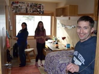 15-01-30 Candid Happy Dad Dorm Room