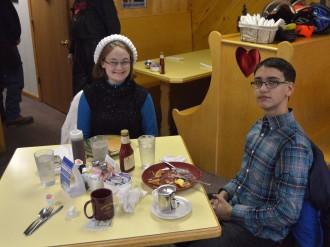 Pre Conserve School breakfast at the Pine Cone