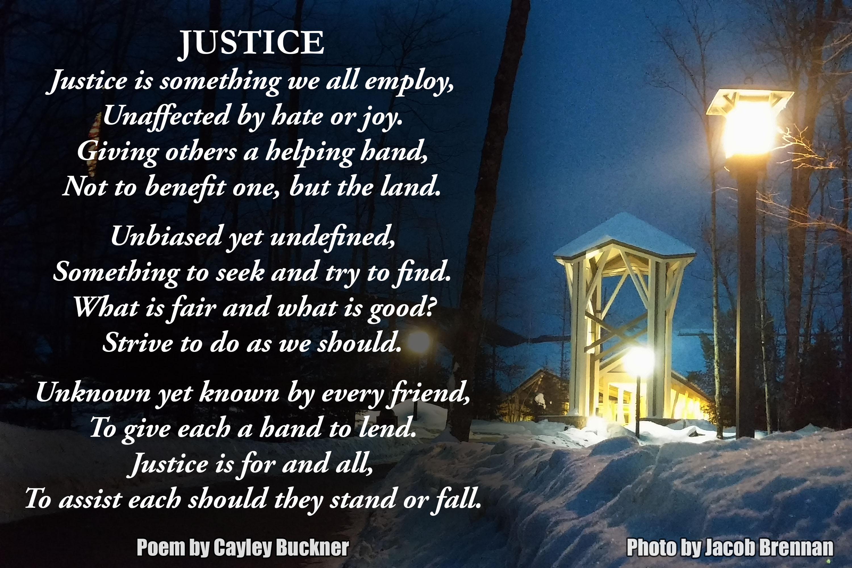 15 01 30 Values Justice Poem Buckner Conserve School Blog
