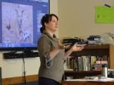 Hannah Stonehouse Hudson sharing her experiences