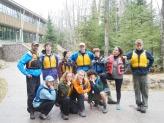 Post-trip group photo