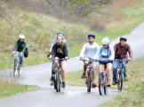 Biking to serve in town
