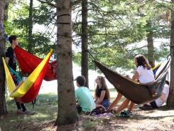 Hanging out near Black Oak Lake