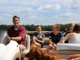Pontoon tour of Black Oak Lake