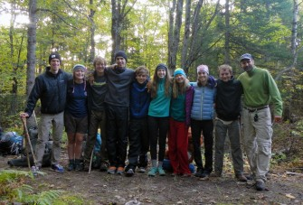 Emily and Michael's Trap Hills hiking group