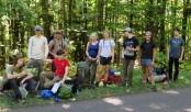 Jon and Robert's Trap Hills hiking group