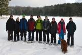 16-02-03 Sylvania Snowshoe 01 Little Donahue Lake