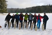 16-02-03 Sylvania Snowshoe 02 Little Donahue Lake