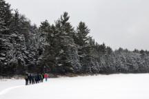 16-02-03 Sylvania Snowshoe 06 Big Bateau Lake