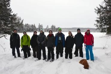 16-02-03 Sylvania Snowshoe 10 Loon Lake