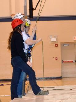16-02-22 Outdoor Skills Rebecca Alec V Caitlin